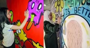 10 فنانين يحولون مواقف سيارات الفندق إلى مساحة إبداعية