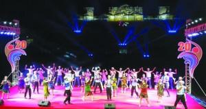 """""""فرحة الإسماعيلية"""" في افتتاح المهرجان الدولي للفنون الشعبية"""