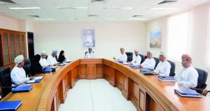 مجلس أمناء الكليات التقنية يناقش خطة التقييم المؤسسي