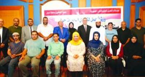 دورة تدريبية لعدد من الصحفيين العمانيين بجريدة الجمهورية المصرية