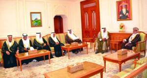 رئيس مجلس الدولة يستقبل مستشار ملك البحرين لشؤون الشباب والرياضة