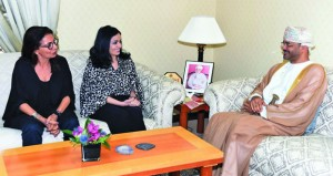 أمين عام الخارجية يلتقي بالممثلة الخاصة للأمين العام للأمم المتحدة لمنع العنف ضد الأطفال