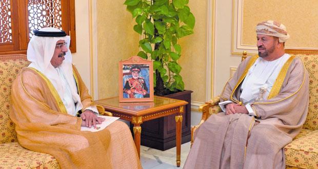 الوزير المسؤول عن شؤون الدفاع يستقبل السفير الإماراتي