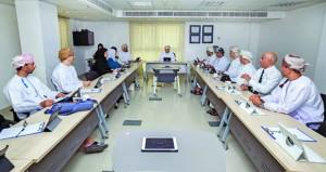 المجلس التنفيذي للمجلس العماني للاختصاصات الطبية يعقد اجتماعة الثالث لهذا العام