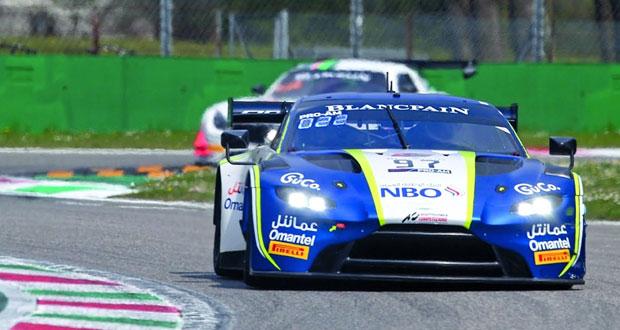 فريق عمان لسباقات السيارات على بعد خطوة من التتويج ببطولة بلانك بان الأوروبية