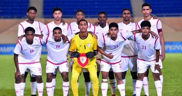 منتخبنا الوطني للناشئين يعود من جديد إلى النهائيات الآسيوية بعد مستوى جيد وجهود كبيرة