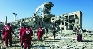 أنصار الله : عشرات القتلى والجرحى بقصف سجن ذمار .. والتحالف ينفي استهدافه