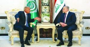 أبو الغيط يبحث في العراق التوترات الإقليمية والاعتداءات الإسرائيلية