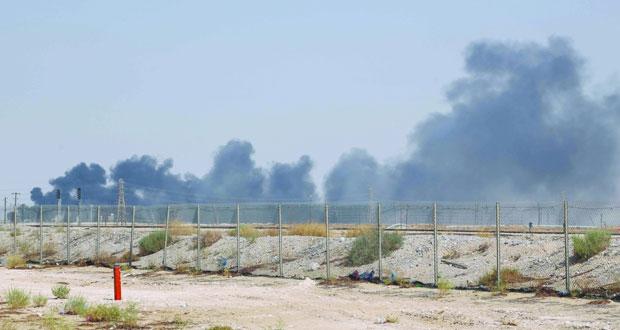 السعودية: حرائق أرامكو نتيجة استهداف بطائرات (درون) وباتت تحت السيطرة .. وصادرات النفط مستمرة
