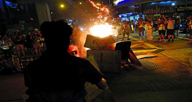 """هونج كونج تعزز أمنها قبل """"احتجاج المطار"""""""