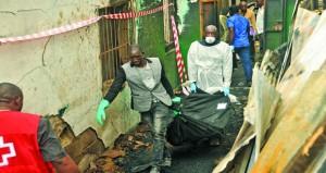 مصرع عشرات الأطفال بحريق في مدرسة بليبيريا