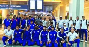 بعثة اللجنة البارالمبية تتوجه الى الأردن للمشاركة في دورة ألعاب غرب آسيا الثانية