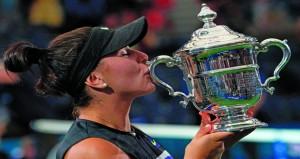 أندريسكو تهزم ويليامز وتفوز بلقب أميركا المفتوحة