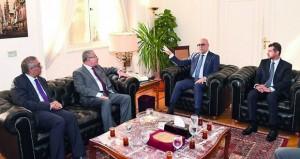 رئيس بلدية مسقط يزور مصر ويلتقي بعدد من المسئولين
