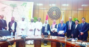 اللجنة العمانية ـ المصرية لقطاعي العمل والتدريب المهني تناقش خطة عمل البرنامج التنفيذي