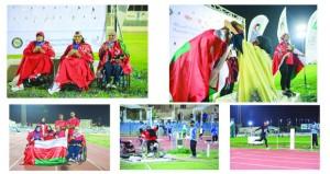 السلطنة تختتم مشاركتها بـ5 ميداليات ملونة في اليوم الأخير لمنافسات ألعاب القوى