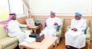 وزير الصحة يستقبل المدير العام لمجلس الصحة لدول المجلس