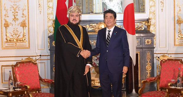 السلطنة واليابان تستعرضان سبل تطوير العلاقات