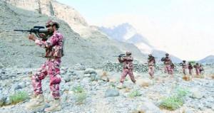 الجيش السلطاني العماني يواصل تنفيذ التمرين العماني/ البريطاني المشترك (قلعة مسندم/1)