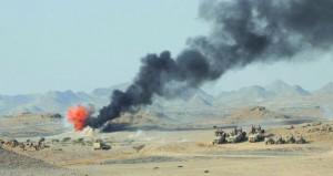 الجيش السلطاني العماني ينفذ البيان العملي (الحسم السريع) لتمرين قوة التدخل السريع
