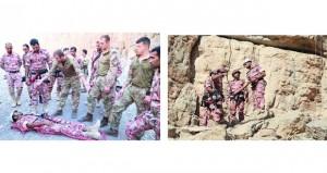 تنفيذ التمرين العماني ـ البريطاني المشترك (قلعة مسندم /١)