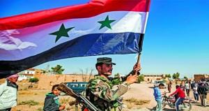 القوات السورية تدخل الطبقة وعين عيسى وتل تمر وترفع العلم السوري بالحسكة والقامشلي