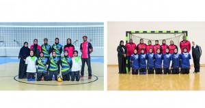 تشارك بـ 8 لعبات.. منتخباتنا للفتيات تواصل التدريبات للمشاركة في الدورة السادسة لرياضة المرأة بالكويت