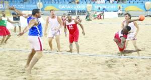 منتخبنا الوطني لكرة اليد الشاطئية يخسر أمام نظيره التونسي في لقاء تحديد المراكز