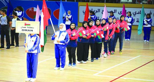 افتتاح مبسط ومبهر للدورة السادسة لرياضة المرأة