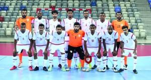 اليوم .. منتخبنا الوطني لكرة القدم للصالات يفتتح مشواره في التصفيات الآسيوية بملاقاة لبنان
