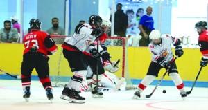 ختام منافسات بطولة عمان الودية لهوكي الجليد