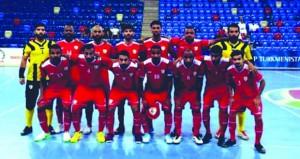 المنتخب الوطني لكرة القدم للصالات يتأهل لنهائيات كأس آسيا