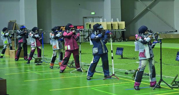 الفريق الوطني للرماية ينهي معسكره التدريبي و يختتم مشاركته في البطولة المحلية بدولة قطر