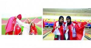 رياضة المرأة العمانية عطاءات متميزة ومسيرة حافلة بالإنجازات