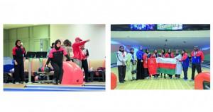 فضيتان وبرونزية للسلطنة في الدورة السادسة لرياضة المرأة الخليجية
