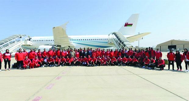 الفرق الرياضية التابعة لقوات السلطان المسلحة تشارك في دورة الألعاب العسكرية بالصين