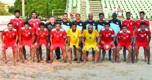 منتخبنا الوطني لكرة القدم الشاطئية يتغلب على بارجواي وديا بسداسية