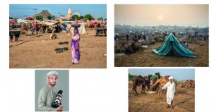 عدسة سعيد الراشدي توثق فعاليات مهرجان الجِمال في بوشكار الهندية