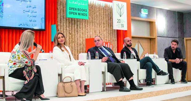 """جلسة حوارية في """"الشارقة الدولي للكتاب"""" تؤكد أن السينما نقلت الأدب العربي إلى العالمية"""