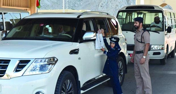 قيادة شرطة مسندم تنظم فعاليات بمناسبة العيد الوطني المجيد