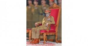 جلالة السلطان يرعى العرض العسكري بقاعدة سعيد بن سلطان البحرية