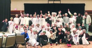 جمعية الطلبة العمانيين بأميركا يحتلفون بالعيد الوطني الـ(49) المجيد
