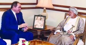 ابن علوي يستقبل وزيري الشؤون الخارجية الجزائري والماليزي