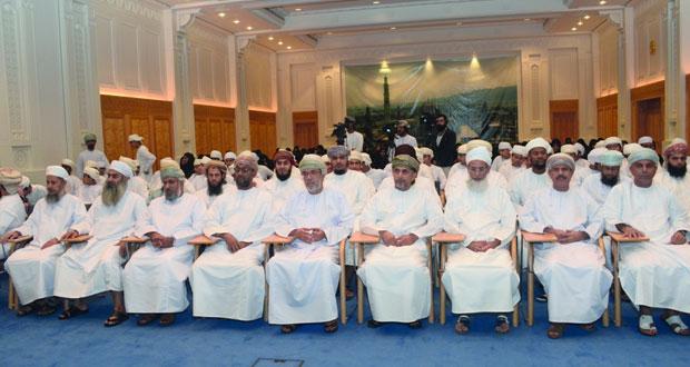 إعلان أسماء الفائزين في مسابقة السلطان قابوس للقرآن الكريم الـ(29) بجامع السلطان قابوس الأكبر