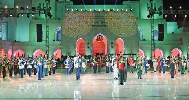 دار الأوبرا السلطانية مسقط تقيم عرضا لفرق الموسيقى العسكرية العُمانية بمشاركة دولية