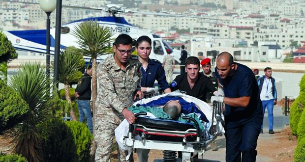 الأردن: طعن سياح ورجل أمن في جرش .. واعتقال المنفذ