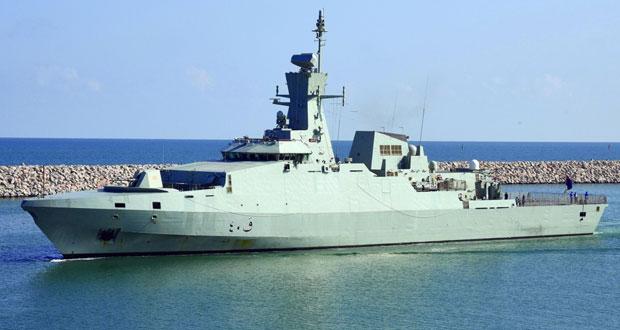البحرية السلطانية العمانية تختتم مشاركتها في التمرين البحري الدولي لعام 2019م(IMX19)