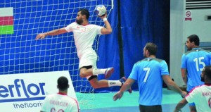 نادي عمان يخسر أمام الوكرة القطري في ختام مبارياته بالمجموعة الثانية في البطولة الآسيوية لكرة اليد