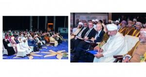 الإعلان عن مشروع إعلان السلطان قابوس للمؤتلف الإنساني خلال الاحتفال العالمي للتسامح بجاكرتا