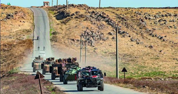 الجيش السوري يشتبك مع القوات التركية شمال سوريا